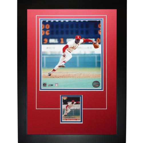 "Bob Gibson Autographed St. Louis Cardinals ""Signature Series"" Card Frame"