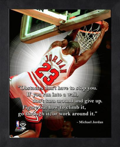 "Michael Jordan Chicago Bulls Framed 11x14 ""Pro Quote"" #2"