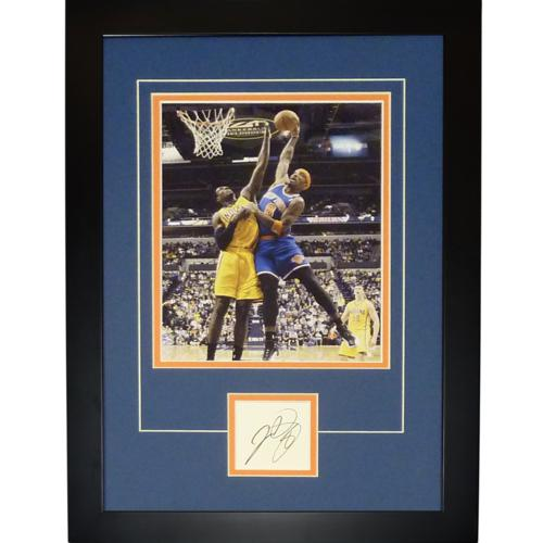 "J.R. Smith Autographed New York Knicks ""Signature Series"" Frame"