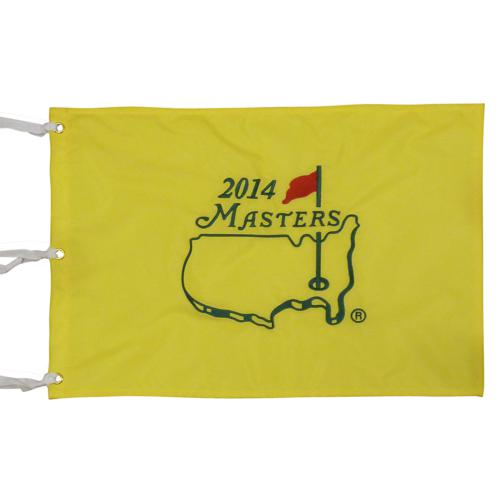 2014 Masters Embroidered Golf Pin Flag - Bubba Watson Champion