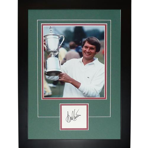 "Andy North Autographed 2-Time US Open (Trophy) ""Signature Series"" Frame"