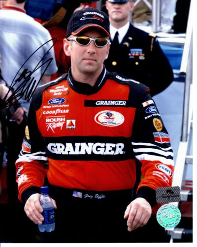 Greg Biffle Autographed Grainger 8x10 Photo