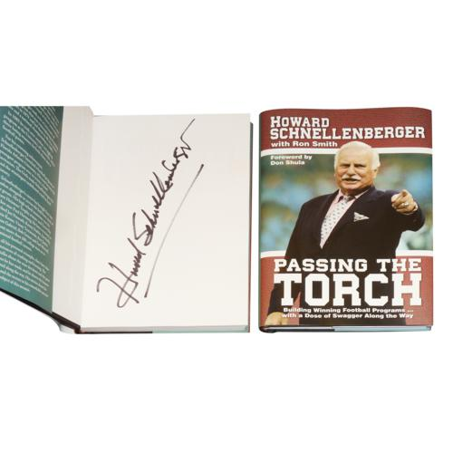 "Howard Schnellenberger Autographed Book ""Passing the Torch"""