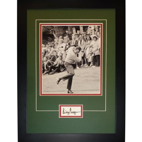 "Billy Casper Autographed 2-Time US Open Champion ""Signature Series"" Frame"