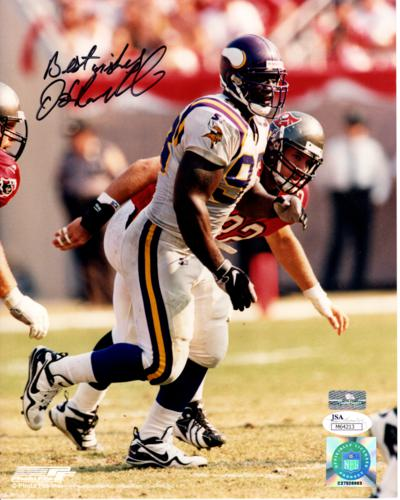 John Randle Autographed Minnesota Vikings 8x10 Photo - JSA