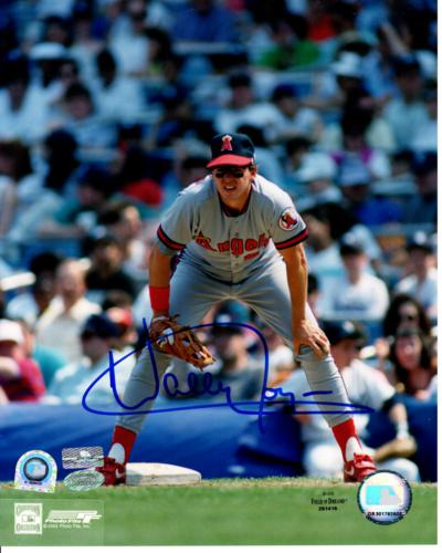 Wally Joyner Autographed California Angels 8x10 Photo - MLB