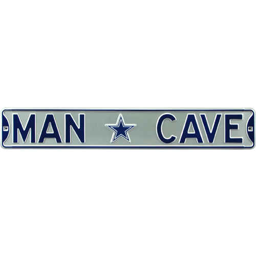 Man Cave Signs Ottawa : Dallas cowboys quot man cave authentic street sign