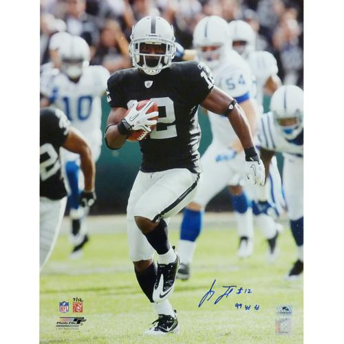 "Jacoby Ford Autographed Oakland Raiders (99yd Kickoff) 16x20 Photo w/ ""99 YD TD"" (LTD ED 12)"