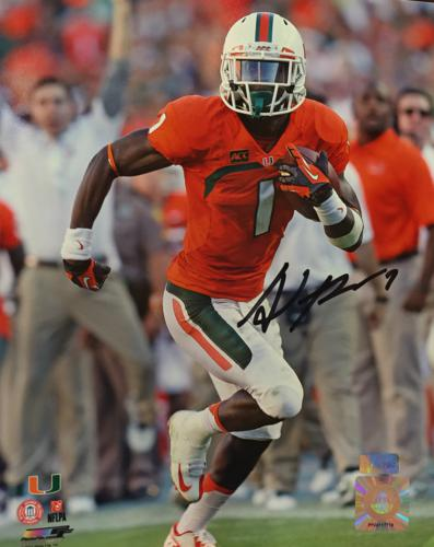 Allen Hurns Autographed Miami Hurricanes 8x10 Photo
