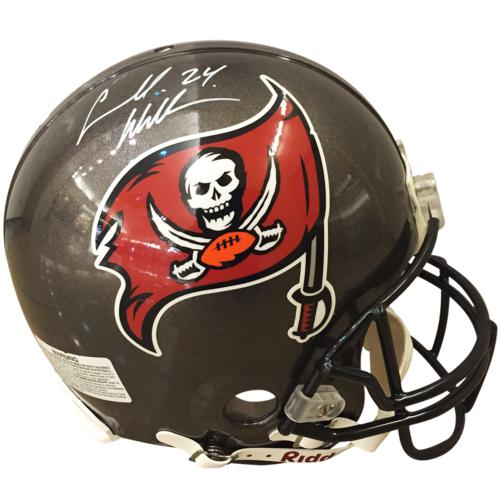 Carnell Williams Autographed Tampa Bay Buccaneers Authentic Pro Line Helmet