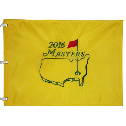 2016 Masters Embroidered Golf Pin Flag - Danny Willett Champion