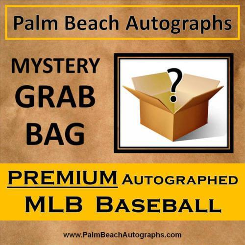 MYSTERY GRAB BOX - Autographed Premium MLB Baseball in Cube