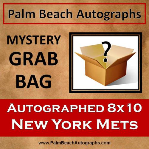 MYSTERY GRAB BAG -  New York Mets Autographed 8x10 Photo