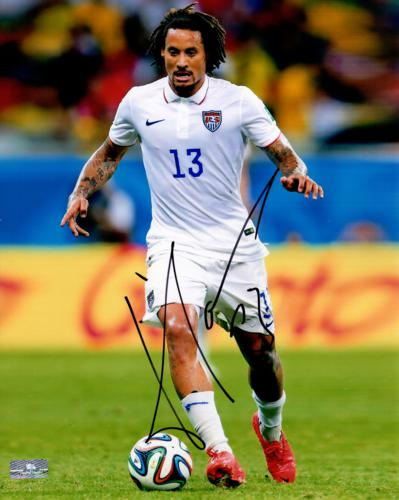 Jermaine Jones Autographed USA Soccer 8x10 Photo