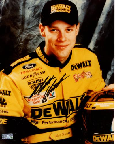 Matt Kenseth Autographed Dewalt 8×10 Photo