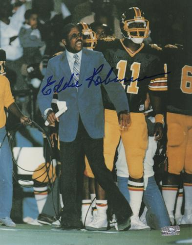 Eddie Robinson Autographed Grambling University Tigers 8×10 Photo
