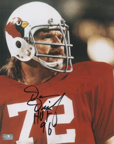 Dan Dierdorf Autographed Arizona Cardinals 8x10 Photo