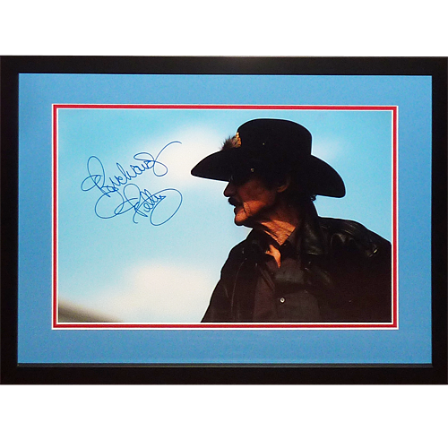 Richard Petty Autographed Nascar Deluxe Framed 11x14 Photo