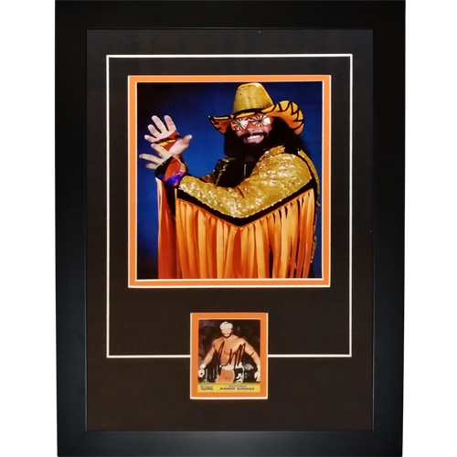 "Randy ""Macho Man"" Savage Autographed Wrestling ""Signature Series"" Frame"