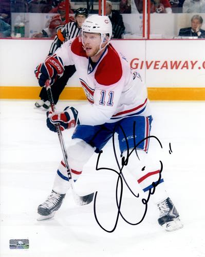 Saku Koivu Autographed Montreal Canadiens 8x10 Photo