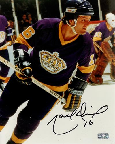 Marcel Dionne Autographed Los Angeles Kings 8x10 Photo