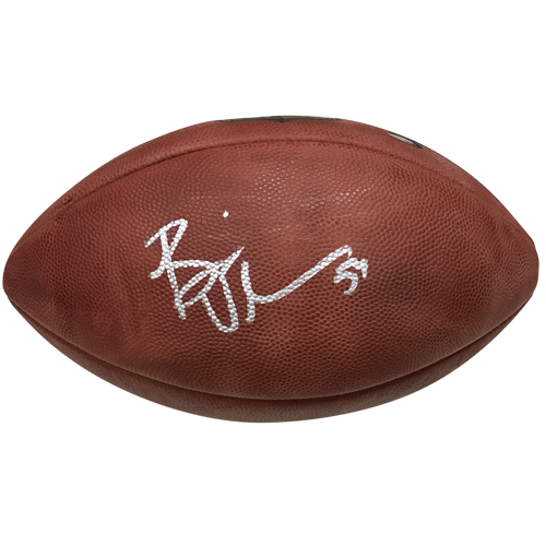 Brian Urlacher Autographed Official NFL Game Football - MM