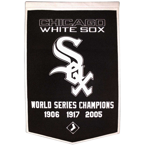 Chicago White Sox World Series Championship Dynasty Banner – with hanging rod